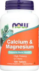 Calcium & Magnesium - 100 Tablets
