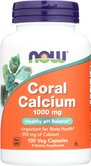 Coral Calcium 1,000 mg - 100 Veg Capsules