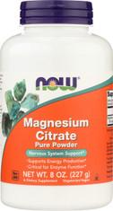 Magnesium Citrate Pure Powder - 8 oz