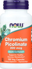Chromium Picolinate 200 mcg - 100 Capsules
