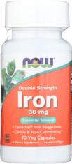 Iron 36 mg Double Strength - 90 Veg Capsules