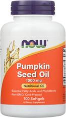 Pumpkin Seed Oil 1000 mg - 100 Softgels