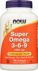 Super Omega 3-6-9 1200 mg - 180 Softgels
