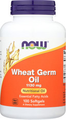 Wheat Germ Oil - 100 Softgels