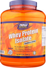 Whey Protein Isolate - Cookies & Creme - 5 lbs.