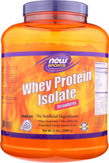 Whey Protein Isolate (Strawberry) - 5 lbs.
