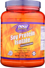 Soy Protein Isolate (Natural Chocolate) - 2 lbs.