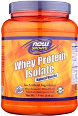Whey Protein Isolate Natural Vanilla - 1.8 lb