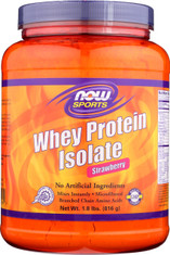 Whey Protein Isolate Strawberry - 1.8 lbs.