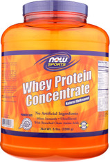 Whey Protein Concentrate Unflavored - 5 lbs.