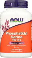 Phosphatidyl Serine - 100 Softgels