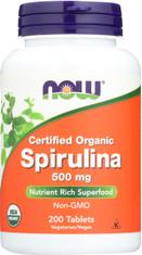 Spirulina 500 mg - 200 Tablets