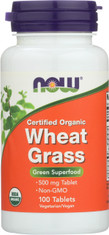 Wheat Grass 500 mg - 100 Tablets