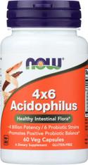 Acidophilus 4X6 - 60 Capsules
