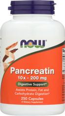 Pancreatin 10X 200 mg - 250 Capsules