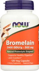 Bromelain 500 mg - 120 Veg Capsules