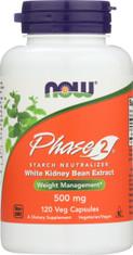 Phase 2 500 mg - 120 Veg Capsules