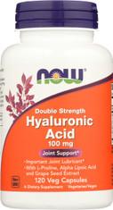 Hyaluronic Acid - 120 Veg Capsules