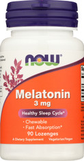 Melatonin 3 mg Chewable - 90 Lozenges
