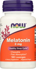 Melatonin 3 mg Chewable - 180 Lozenges