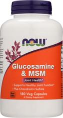 Glucosamine & MSM - 180 Capsules