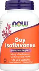 Soy Isoflavones 60 mg - 120 VCaps® - Non-GE