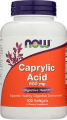 Caprylic Acid 600 mg - 100 Softgels