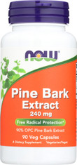 Pine Bark Extract 240 mg - 90 Veg Capsules