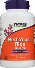 Red Yeast Rice 1200 mg - 60 Tablets