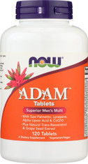 ADAM™ Superior Men's Multiple Vitamin - 120 Tablets