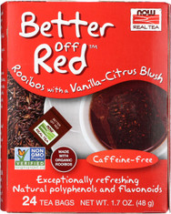 Better Off Red™ Rooibos Tea - 24 Tea Bags