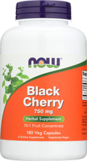Black Cherry Fruit 750 mg - 180 Veg Capsules