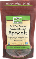 Dried Apricots, Certified Organic - 16 oz.