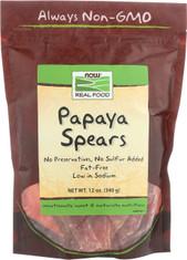 Dried Papaya Spears- 12 oz