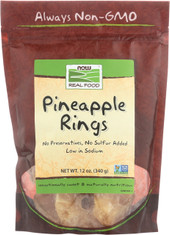 Dried Pineapple Rings - 12 oz