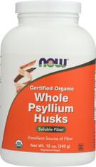 Whole Psyllium Husks (Organic) - 12 oz.