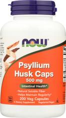 Psyllium Husk 500 mg - 200 Capsules