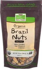Brazil Nuts, Certified Organic - 10 oz.