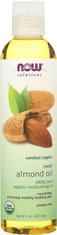 Sweet Almond Oil Pure, Organic - 8 fl. oz.