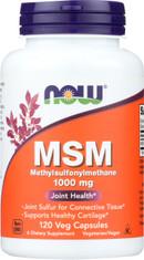 MSM 1000 mg - 120 Capsules