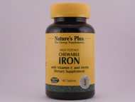 Iron 27mg Herbal 90 Chewables