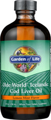 Olde World Cod Liver Oil 8oz Oil