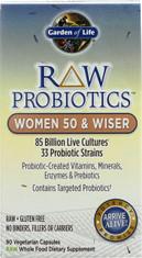 Raw Probiotics Women 50 & Wiser 90 Capsules