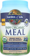 RAW Organic Meal Vanilla 1115g Powder