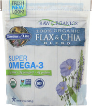 Organic Flax And Chia Seed 12oz