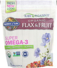 Organic Flax Seed And Fruit 12oz