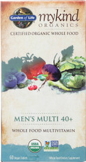 Mykind Organics Men's 40+ Multi 60 Organic Tablets