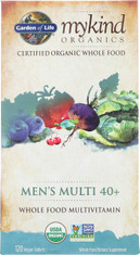 Mykind Organics Mens 40+ Multi 120 Organic Tablets