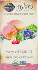 Mykind Organics Women's Multi 120 Organic Tablets