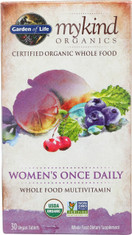 Mykind Organics Women's Once Daily 30 Organic Tablets